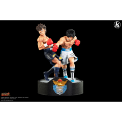 Hajime No Ippo- Ippo vs Sendo Resis Statue