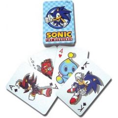 Sonic The Hedgehog Playing Cards