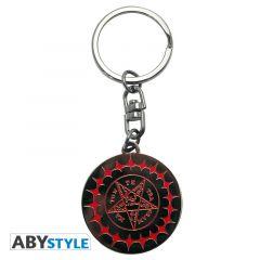 Black Butler Pentacle Emblem Sleutelhanger