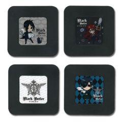 Black Butler Anime Coasters Set - Chibi Characters