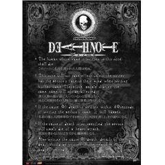 Death Note Rule Wallscroll