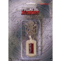 Full Metal Alchemist Logo - Dog Tag Necklace