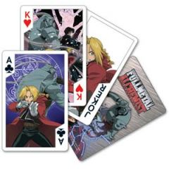 Full Metal Alchemist playing cards