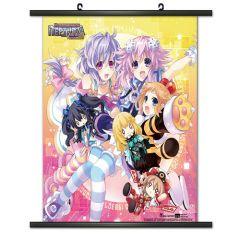 Hyperdimension Neptunia Wallscroll 04