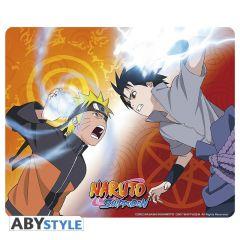 Naruto vs Sasuke mousepad