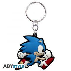 Sonic Run Keychain