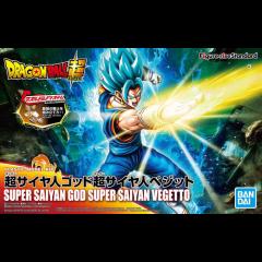 Figure Rise Super Saiyan God SS (Super Saiyan) Vegetto Model Kit