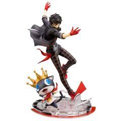 Persona 5 ARTFXJ Statue 1/8 Hero & Morgana 25 cm