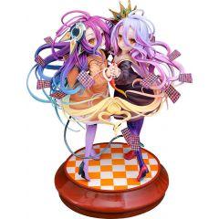 No Game No Life Statue 1/7 Shiro & Schwi 22 cm