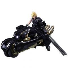 Final Fantasy VII Advent Children Play Arts Kai Action Figure Cloud Strife & Fenrir 28 cm