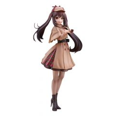 Date A Live: Date A Bullet Statue Kurumi Tokisaki Detective Ver. 28 cm