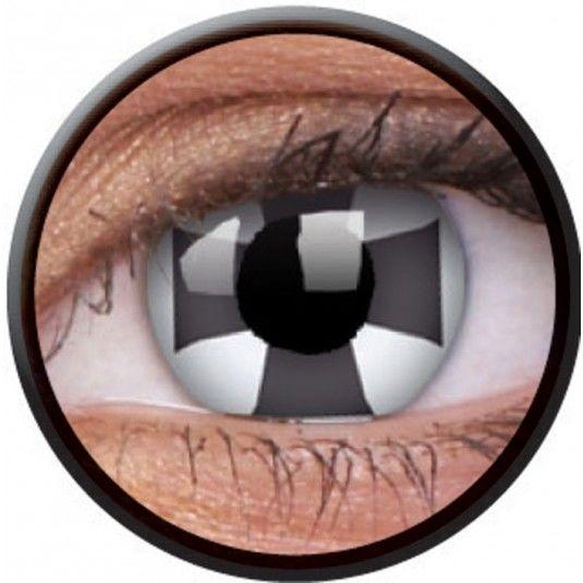 Black Cross Contact Lens 14 mm