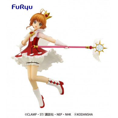 Card Captor Sakura Clear Card Special PVC Statue Sakura Rocket Beat 19 cm