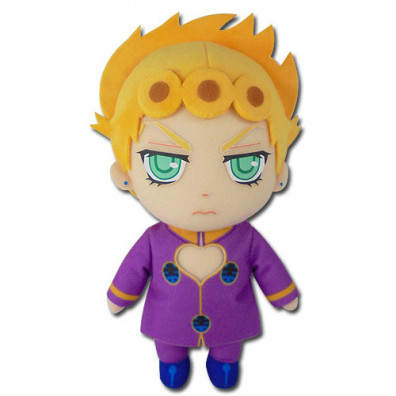 Jojo's Bizarre Adventure S4 Golden Wind Giorno Plush 20cm