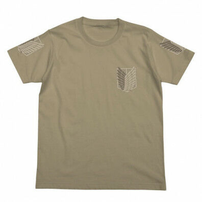Attack on Titan T-shirt: Scouting Legion brown
