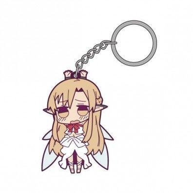 Asuna Tsumamare Rubberen Key Chain 2