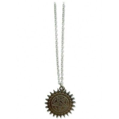 Black Butler Pentacle Emblem Necklace