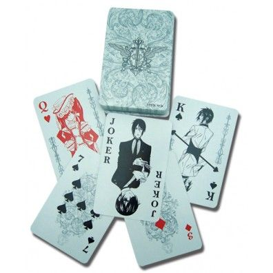 Black Butler Play Cards 2