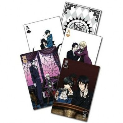 Black Butler Play Cards