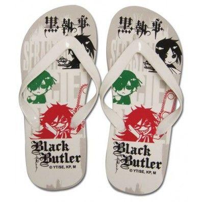 Ciel, Sebastian, Grell Uni-Sex Flip Flop Slippers 26cm