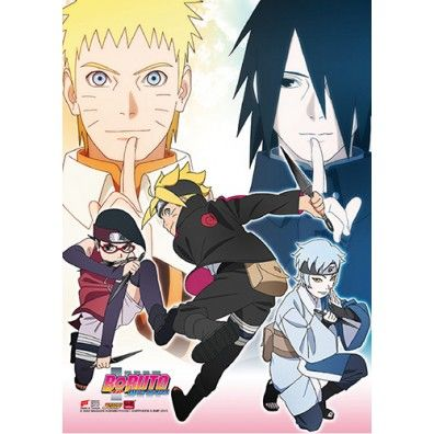 Boruto Group 1 Wallscroll