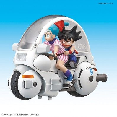 Dragon Ball Mecha Collection – 01 Bulma Cap Motorcycle