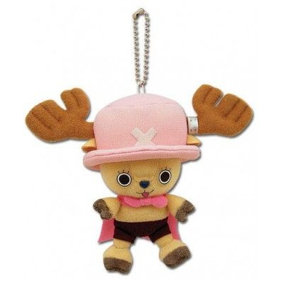 Chopper with cape plush key chain