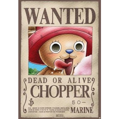 Chopper Wanted Poster (LARGE)