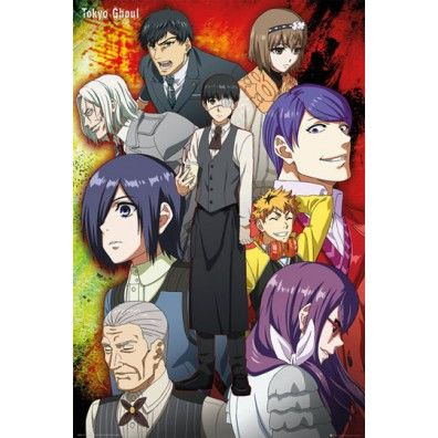 Tokyo Ghoul Group Poster