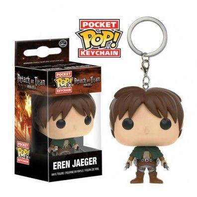 Funko Attack on Titan Eren Yeager Pocket Pop Keychain
