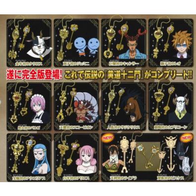 Fairy Tail 12 Zodiac Keys