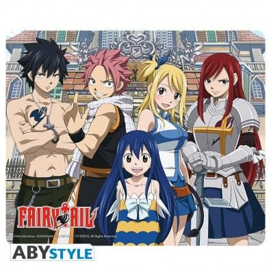 Fairy Tail Group Mousepad