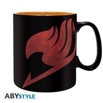 Lucy, Natsu & Emblem Mug
