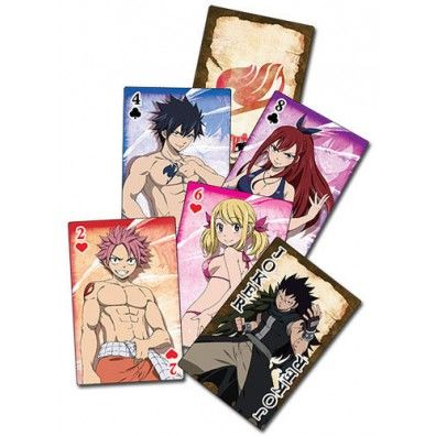 Fairy Tail Playing Cards 2