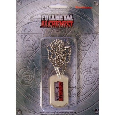 Full Metal Alchemist Logo - Dog Tag Necklace