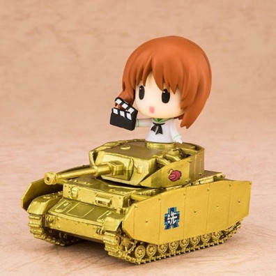 Girls Und Panzer Movie – Miho Nishizumi Commemoration With Tank Ver.