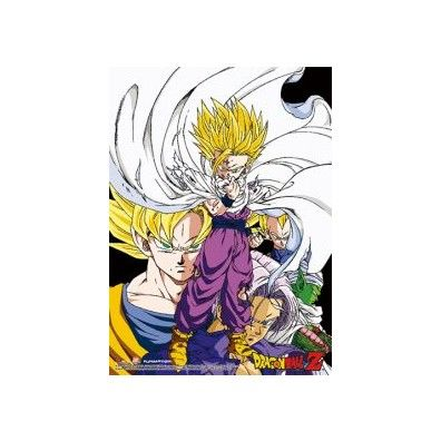 Dragon Ball Z - Gohan & Group Premium Wallscroll