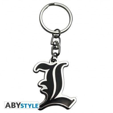 L Symbol keychain