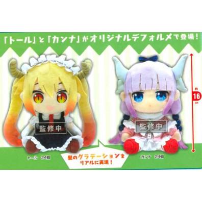 Kobayashi's Dragon Maid Plushes - Kanna / Tohru