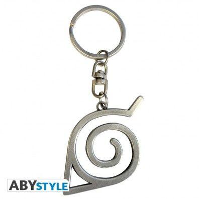 Konoha symbol 3D key chain