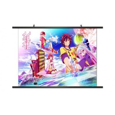 No Game No Life - Chess Wallscroll