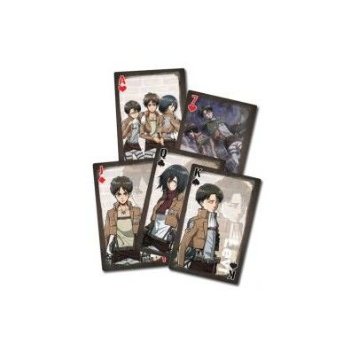 Attack on Titan Playing cards 3