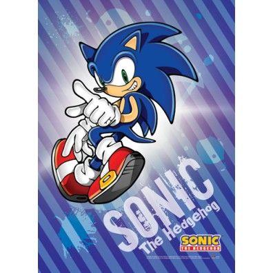 Sonic Wallscroll