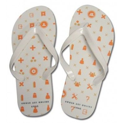 Menu Icon Uni-Sex Flip Flop Slippers 26cm