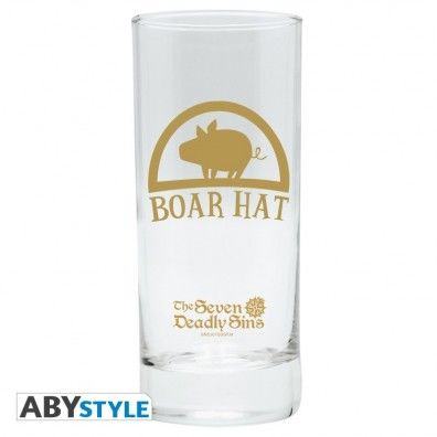 "The Seven Deadly Sins - Glass ""Boar Hat"""