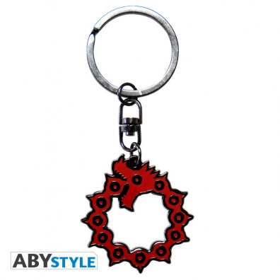 The Seven Deadly Sins Emblem Keychain