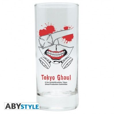 Tokyo Ghoul Mask Glass