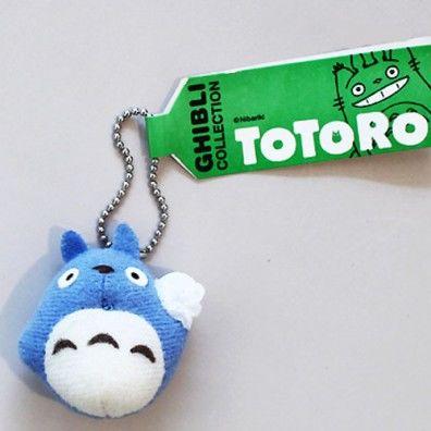 Totoro blue keychain