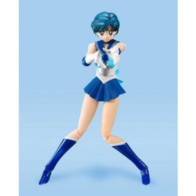 Sailor Moon S.H. Figuarts Action Figure Sailor Mercury Animation Color Edition 14 cm