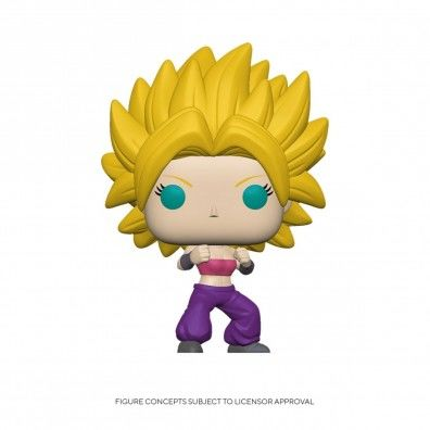 Dragon Ball Super Super Saiyan Caulifla Pop! Vinyl Figure